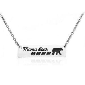 Jewelry - Mama Bear with 4 Cubs Necklace